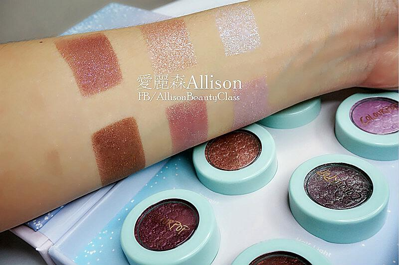 COLOURPOP眼影開箱|DUSK TILL DAWN|GOLDEN STATE OF MIND