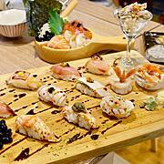 【食記】台北*華山。合掌村*隱身市場內料好實在的握壽司 日本料理 生魚片丼飯 海鮮丼飯 善導寺