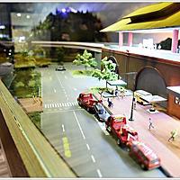新北市中和區【葛瑞絲商旅Grace Hotel】—電動捷運小火車模型