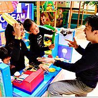 台南親子飯店【夏都城旅 安平館】—時尚寬敞漫享家庭房。城嬉fun空間兒童遊戲室