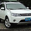 三菱/MITSUBISHI 2009款 OUTLANDER 4WD 2.4c.c