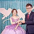 坤逸&嬋娟訂結婚