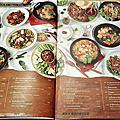 Savoey菜單