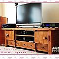 老柚木電視櫃
