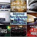 montreal parc olympique/Biodôme/Planetarium