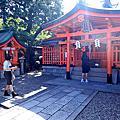 京都旅遊第一天伏見稻荷大社