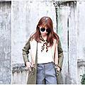 [穿搭]✿棉絨外套v.s西裝外套✿兩款外套為冬天提前預備溫暖