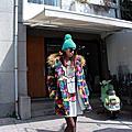 [平價服飾穿搭]穿上五彩繽紛的毛絨絨外套★還有可愛邦尼兔陪伴暖暖過冬天