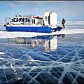 貝加爾湖~冰裂