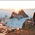 貝加爾湖~薩滿岩石(Shamanka 胡日爾鎮/奧利洪島)