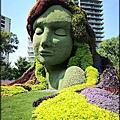 加拿大世界級的藝術園藝雕塑創作(上)