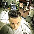漢男士髮型之剪髮造型