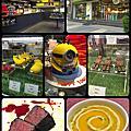 台北。三創生活園區、御盤de食堂、N°168 PRIME 牛排館、Yellow lemon、黑骨拉麵