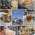 2017加州。The counter hamburger、Hog Island Oyster Co、舊金山漁港