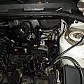MAZDA-3踩剎車會下沉修理