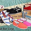 美國超火紅!環保休閒品牌TOMS Shoes