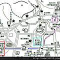 2014京都大阪自由行-奈良公車路線圖