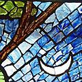 非洲藝術-玻璃拼畫