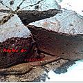 闇黑半熟巧克力蛋糕