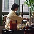 2008/10/29留學生中心茶道表演