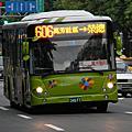 大都會客運606路 低底盤公車