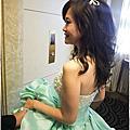 小均三進晚禮服造型-- 歐式公主