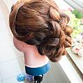 髮型--盤髮