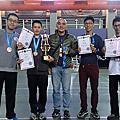 2015 年 12 月WAKO踢拳道全國錦標賽