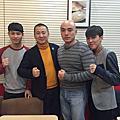 2016 年 1 月上海、北京職業拳擊參訪及訓練