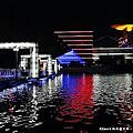 【東莞夜生活】東莞亞洲第一廣場&玉蘭大劇院(以藍帶、綠帶、光帶為主題的藝術廣場)