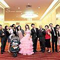 2012-10-21 昌興&慧萍 中和環球國際宴會廳 婚紗施華洛婚紗精品概念館