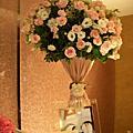 claire 六福皇宮婚禮- 布置