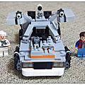 樂高21003 - The DeLorean Time Machine