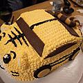 巧虎蛋糕慶祝奶奶生日