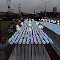 20181231總統府前裝置藝術LED蒲公英