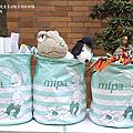 【國際口足畫藝協會 MFPA】兔兔多功能衣物收納桶