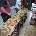 畢業舞會中午:吃心酸比薩...