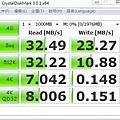 adata S102pro 32GB測試