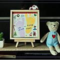 【親子同樂】元泰の二歲足跡紀念,最有溫度的生日禮物,我推薦手作藝術足印心滿藝足手作教室