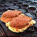 【新竹新鮮事】下午茶大推薦!《竹北雕魚燒》鬆軟的餅皮都滿出來,一隻居然才25元,外觀樸實,口味獨特