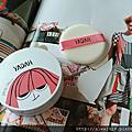 【彩妝+】韓國 YADAH 自然雅達 空氣蜜粉餅,快速擁有韓國完美無瑕底妝