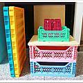 【收納好物】土耳其AYKASA多色摺疊收納籃,耐重、收納、家用露營的好幫手,可當小邊桌,環保居家新選擇!小坪數收納最愛