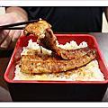 【新竹美食週記】元鮨壽司,店內的鰻魚料理,全是活跳跳鰻魚現殺現烤。鰻魚肉在嘴裡吃得出甜香與Q度,肉質好有彈性