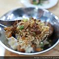 【新竹美食週記】蛋媽媽魯肉飯,魯肉飯香Q好吃不油膩,服務熱忱親切。竹蓮市場二樓美食街第一攤