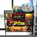 【育兒好物】DELSUN 九格玩具收納架 大地茶色,環保無毒不受蟲蛀且不易變形,台灣製造