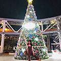 【竹北高鐵站前新地標】暐順經貿大樓6+Plaza,超夢幻聖誕樹,粉紅色燈海,網美IG打卡大推薦