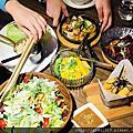 【台北美食週記】飯BAR MINI,時髦中菜的華麗變身。結合川、粵、浙、湘、閩等中國菜系,打造小份量的創意料理