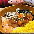 【就是愛美食台北】Pokeholic波奇哈客,裝潢好可愛!台灣第一家夏威夷生魚丼飯(微風南京店)