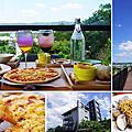 【新竹美食分享】竹東卡菲努努景觀餐廳,餐點現點現做,親子好玩打卡景點,適合家庭聚餐