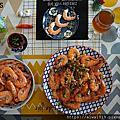 【冷凍食材推薦】在家也能嘗到新鮮美味│元家藍鑽蝦│蝦子料理推薦│鮮甜Q彈